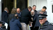 WikiLeaks co-founder Julian Assange arrested and dragged out of embassy after US extradition request