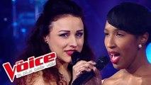 Whitney Houston - I Will Always Love You |Valérie Delgado VS Estelle Micheau |The Voice 2012 |Battle