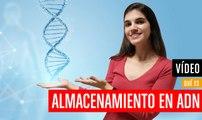 ¿Qué es almacenamiento ADN?