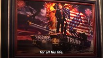 Famed 'Piss Christ' Artist Andres Serrano Creates Trump-Themed Art Show