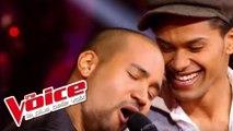 Stevie Wonder - Superstition   Thomas Mignot VS K.   The Voice France 2012   Battle