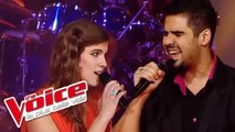 The Rolling Stones - Angie   Patrice Carmona VS Pia Salvia   The Voice France 2012   Battle