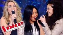 Céline Dion - Pour que tu m'aimes encore |Stéphanie Lamia VS Elodie VS Linda |The Voice 2012 |Battle