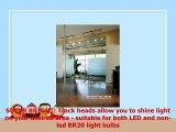 Lithonia Lighting LTKSTBF BR20 DBL M4 Adjustable Decorative 3head LED Lamp 500