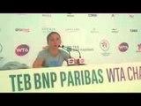 WTA Championships - Sara Errani dopo la sconfitta contro Agnieszka Radwanska