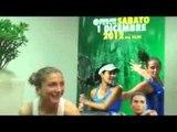 La Grande Sfida: Ubaldo Scanagatta con Sara Errani e Roberta Vinci