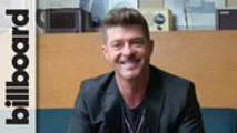 Robin Thicke Plays 'Fishing For Answers'   Billboard