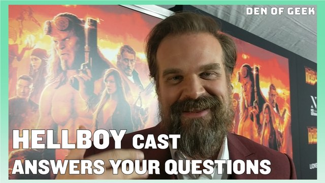 The Cast of Hellboy (2019) Answers Your Questions