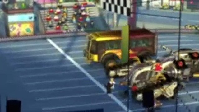 LEGO NinjaGo Masters of Spinjitzu S02E04 Ninjaball Run