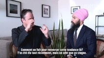 Discussions de salon avec Jagmeet Singh