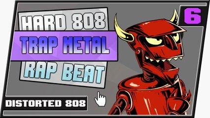 [ FREE ] Hard Distorted 808 Trap Metal Dubstep Type Beat || RexD