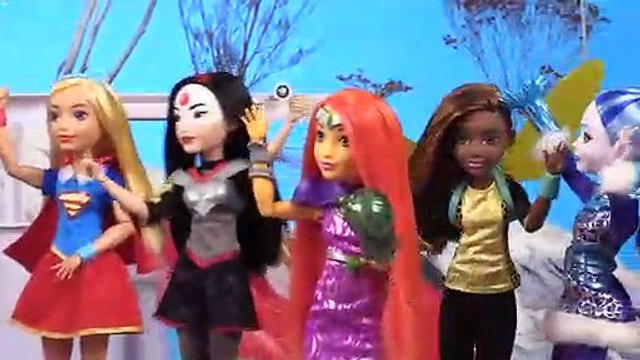 Carpool Karaoke Becomes a Dance Party with the DC Super Hero Girls | DC Super Hero Girls