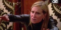 Watch! Sonja Morgan Has A Dinnertime Meltdown In The Berkshires On 'RHONY'