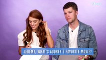 Audrey & Jeremy Roloff Play Couples Trivia