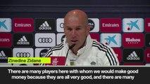 (Subtitled) 'We would make good money' - Zidane's response to Isco transfer rumours