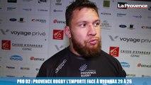 Pro D2 : Provence Rugby l'emporte face à Oyonnax 29 à 26