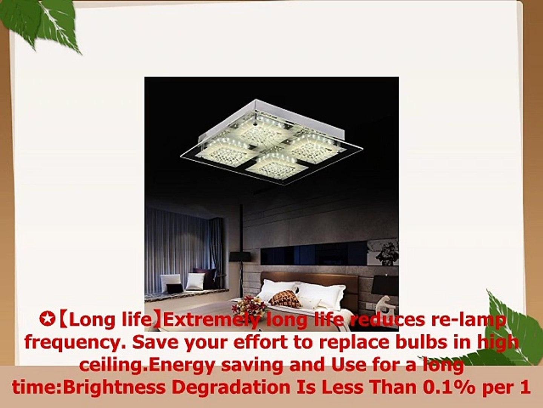 quality design a5a39 baec2 AUDIAN Flush Mount Ceiling Light Ceiling Lamp Modern K9 Crystal Bead  Ceiling Flush Mount