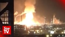 Two injured in explosion and fire at Pengerang O&G facility