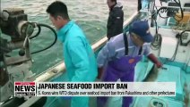 S. Korea wins WTO dispute over seafood import ban from Fukushima and other prefectures