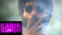 Shahid Kapoor smokes 20 cigarettes before returning home for Kabir Singh,Here's why | FilmiBeat