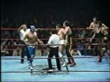 Jerry Estrada/MS-1/El Satanico vs Javier Cruz/Mogur/Tony Bennetto (CMLL November 1986)