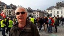 Max Cuaz, animateur du collectif savoyard contre la Répression:  « Une sanction disproportionnée »