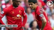 Les maillots de Liverpool sous la marque New Balance
