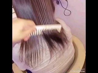 كرياتين مع بروتين من اول جلسة#معالجة الشعر#تركيب وصلات#RENA BEAUTY CENTER