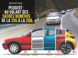 Reportage : au volant des sacrés numéros Peugeot !