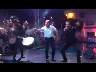 Abo Badr - Bab El 7ara - Dance   الرقصة الحلبية لأبو بدر باب الحارة - حفل النجم محمد اسكندر - دمشق