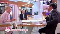 C à vous : Patrick Cohen revient sur les conditions de vie de Julian Assange (vidéo)