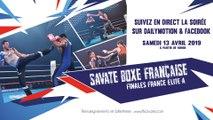 Finales Championnat de France 2019 de Savate : Elite A (boxe française)