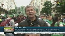Argentina: trabajadores estatales porteños exigen mejoras salariales