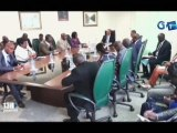 RTG - Le Ministre des forêts et de l'environnement à reçoit les présidents d'une ONG