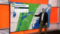 Showers Friday, but sunshine and warm Saturday before storms arrive to end the weekend in East