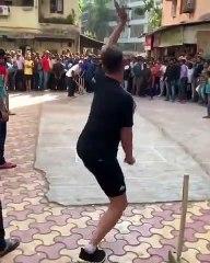 Bret Lee Balling To Brian Lara In Mumbai