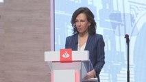 La campaña electoral llega al Banco Santander