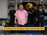 Sultan Johor selamat tiba di Johor Bahru