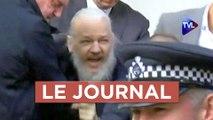Julian Assange : lanceur d'alerte en danger - Journal du vendredi 12 avril 2019