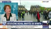 """Ségolène Royale: """"Ce ne sont plus des gilets jaunes, ce sont des gens qui mettent des gilets jaunes pour continuer le désordre"""""""