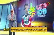 Juegos Panamericanos: Nicolás Fuchs llevará la antorcha de Lima 2019