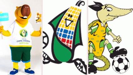 Relembre os mascotes da Copa América