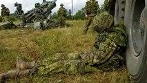 Ce soldat endormi au beau milieu d'un champ de bataille va se faire réveiller d'une drole de façon