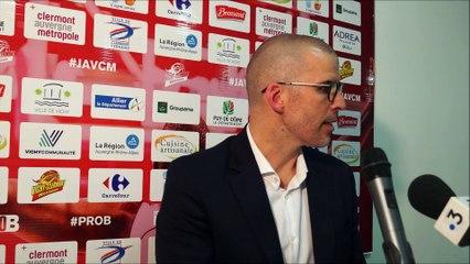 En conférence de presse : J.A.VCM / Blois (Pro B J26)