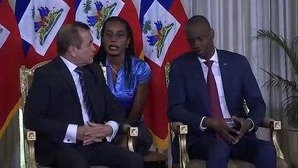 Le Président de la République a reçu,les lettres de créance de trois nouveaux ambassadeurs accrédités en Haïti.