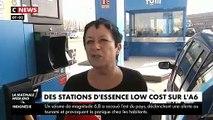 Reportage dans la première station service low cost sur l'A6 pour faire enfin son plein d'essence à un prix raisonnable