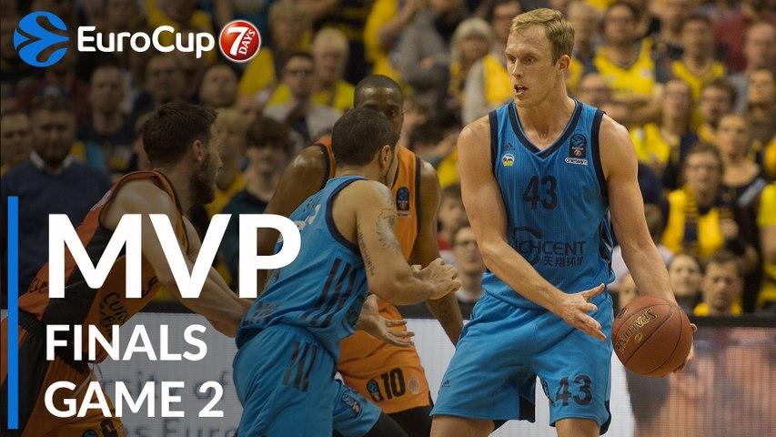 7DAYS EuroCup Finals Game 2 MVP: Luke Sikma, ALBA Berlin