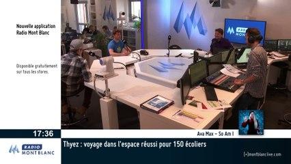 Benjamin Daviet en direct sur Radio Mont Blanc