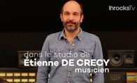 Dans le studio d'Etienne de Crécy