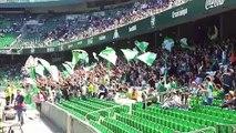 La afición del Betis ya prepara el Sevilla-Betis en el derbi femenino